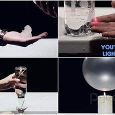 การทดลองสนุกๆ เกี่ยวกับน้ำ