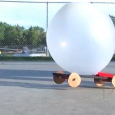ของเล่นวิทยาศาสตร์สนุกๆ รถพลังลูกโป่ง