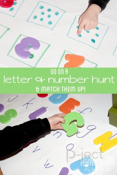 รูป 5 เกมส์ค้นหาตัวเลข ตัวอักษร วางให้ถูกตำแหน่ง