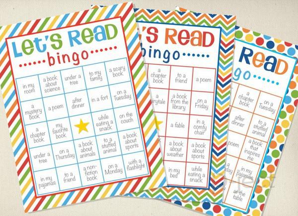 สอนให้เด็ก ฝึกรักการอ่าน จากบิงโก