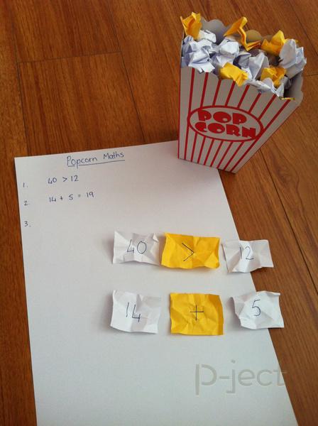 ไอเดียสื่อการสอน คณิตศาสตร์ แบบง่ายๆ