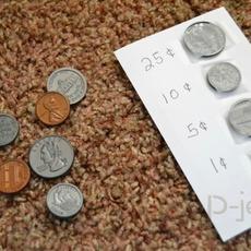 สื่อการสอนคณิตศาสต์ รู้จักเหรียญต่างๆ ที่ใช้จ่าย
