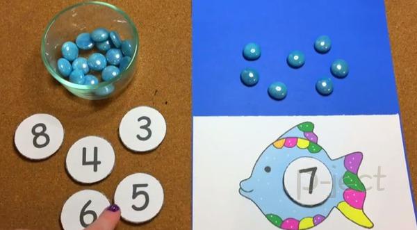 รูป 2 เกมส์ สอนนับ สำหรับเด็กเล็ก