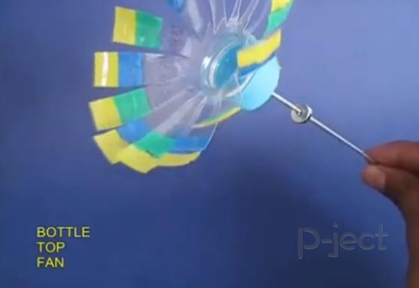 รูป 5 ไอเดียทำของเล่น จากขวดพลาสติก และแม็กเน็ต