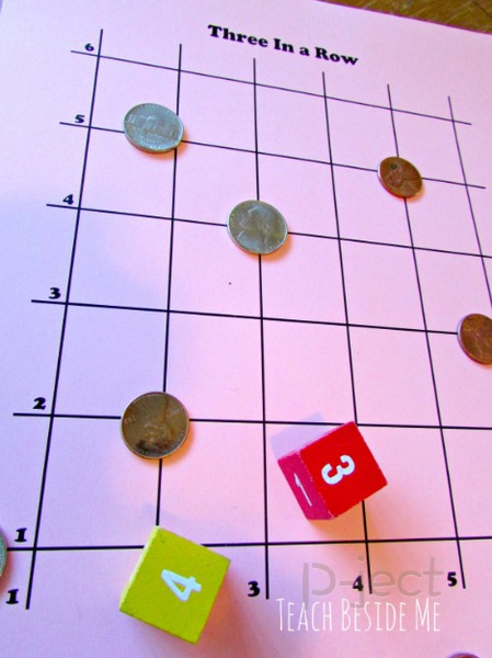 เกมส์เรียง 3 ในกระดาษตาราง