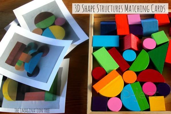 รูป 2 สอนต่อรูปทรง จากรูปตัวอย่าง (สื่อการสอนสนุกๆ)