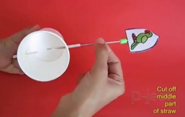 รูป 4 ไอเดียทำตัวละครการ์ตูนอนิเมชั่น จากกระดาษ