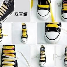 สอนร้อยเชือกรองเท้าผ้าใบ ลายสวย