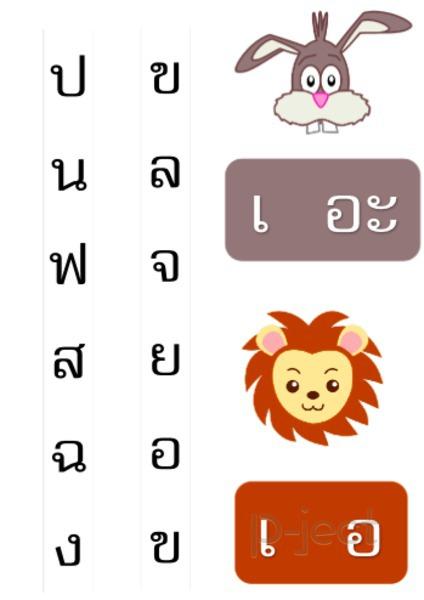 สอนอ่านภาษาไทย กับแผ่นคำอ่าน สนุกๆ