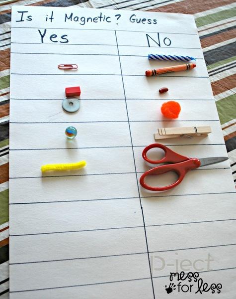 รูป 3 กิจกรรมทดลองวิทยาศาสตร์ สนุกๆ แม่เหล็กหรรษา