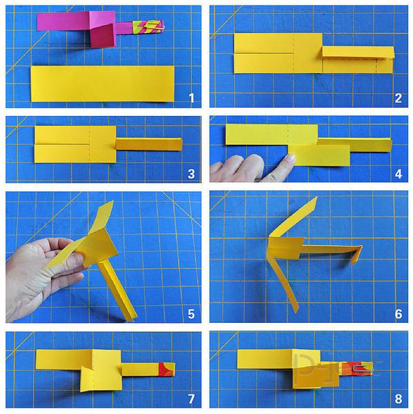 รูป 4 สอนทำเฮลิคอปเตอร์กระดาษ เล่นสนุกๆ