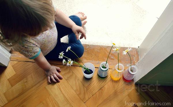 รูป 3 สื่อการสอนสนุกๆ ดอกไม้เปลี่ยนสี