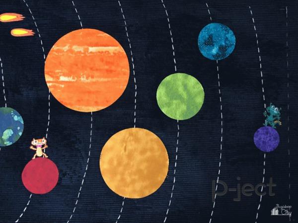 รูป 3 เรียนรู้ สุริยะจักรวาล จากหมอน