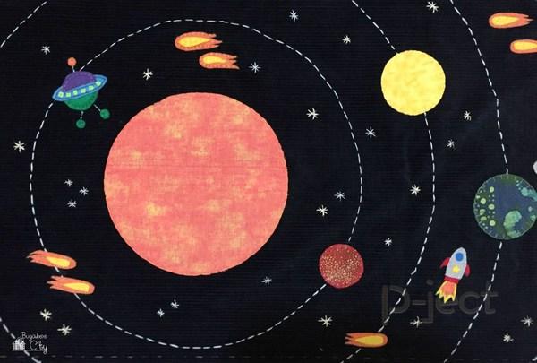 รูป 4 เรียนรู้ สุริยะจักรวาล จากหมอน