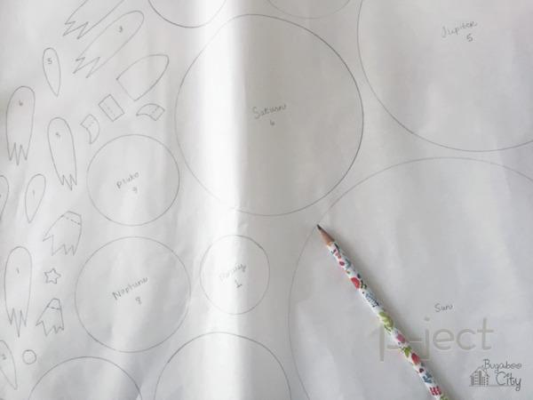 รูป 7 เรียนรู้ สุริยะจักรวาล จากหมอน