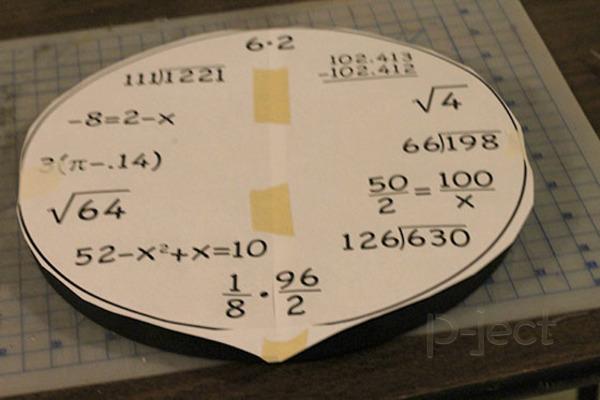 รูป 4 สอนทำนาฬิกา แก้โจทย์ปัญหาคณิตศาสตร์