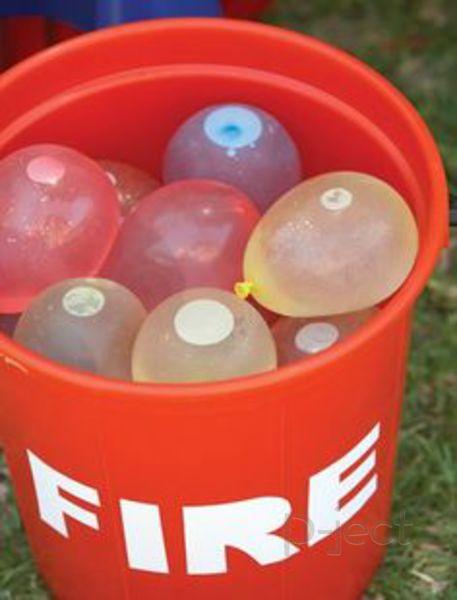 รูป 3 การทดลองง่ายๆ เกี่ยวกับลูกโป่ง น้ำ และไฟ