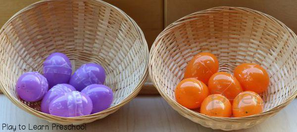 รูป 2 ฟังเสียง จับคู่ไข่ สื่อการสอนสนุกๆ