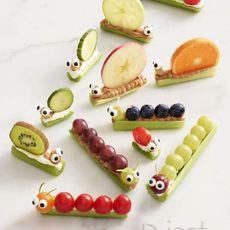 ประดิษฐ์อาหาร เป็นรูปหอยทากน่ากิน