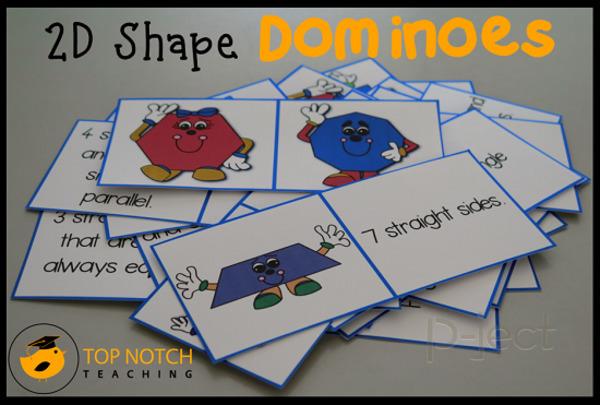 รูป 1 เกมส์โดมิโน 2D Shaps ตัวการ์ตูนน่ารัก