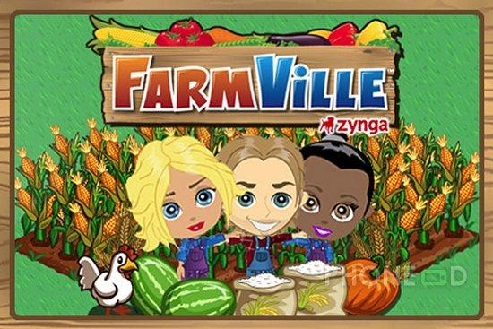 รูป 1 ดาวน์โหลด Farmville สำหรับไอโฟนและไอพอดทัช