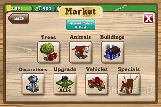 รูป 3 ดาวน์โหลด Farmville สำหรับไอโฟนและไอพอดทัช