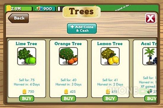 รูป 4 ดาวน์โหลด Farmville สำหรับไอโฟนและไอพอดทัช