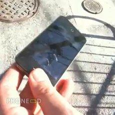 ไอโฟน 4 กระจกแตกง่ายแค่ไหน (คลิปทดสอบ)