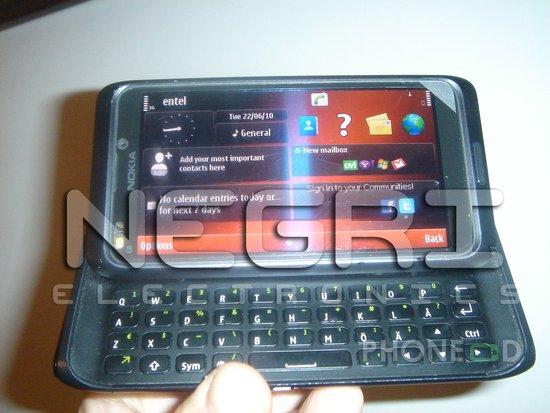 รูป 1 ภาพมือถือโนเกีย N9 (E7) ใหม่