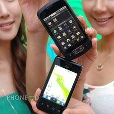 โทรศัพท์ LG Optimus One และ Optimus Chic