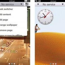 ภาพระบบปฏิบัติการ Symbian^4