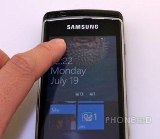 รูป 1 รายละเอียด Windows Phone 7 พร้อมคลิปการใช้งาน