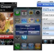 โปรแกรม Skype สำหรับไอโฟน เวอร์ชั่นใหม่ สนับสนุน Multitask