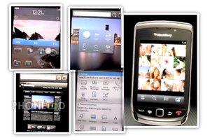 คลิปแสดงหน้าจอระบบ Blackberry OS 6 ในมือถือใหม่ Blackberry 9800