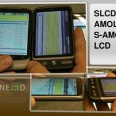 เปรียบเทียบจอ SLCD จอ AMOLED, S-AMOLED และ LCD