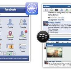 โปรแกรม Facebook สำหรับ iPhone และ Blackberry เวอร์ชั่นใหม่