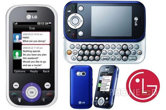 รูป 1 โทรศัพท์มือถือ LG KS365