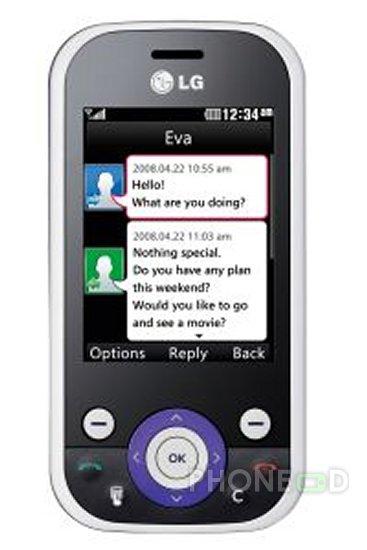 รูป 2 โทรศัพท์มือถือ LG KS365