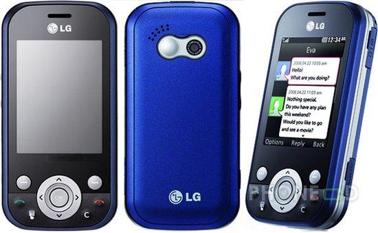รูป 4 โทรศัพท์มือถือ LG KS365