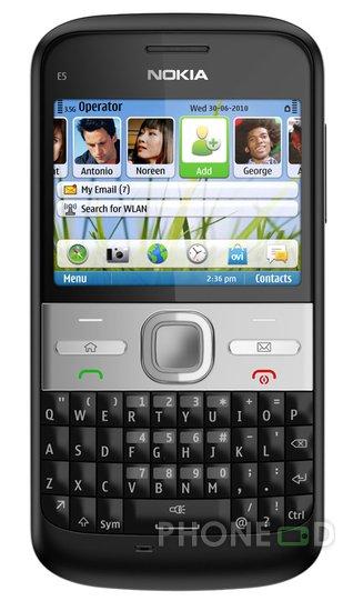 รูป 2 ราคา Nokia E5