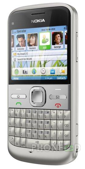 รูป 5 ราคา Nokia E5