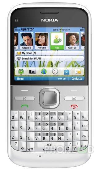รูป 7 ราคา Nokia E5