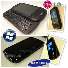 รูปมือถือ LG C900 และ ซัมซุง Cetus i917