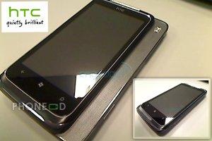 ภาพมือถือใหม่ HTC T8788 ระบบวินโดวส์โฟน 7