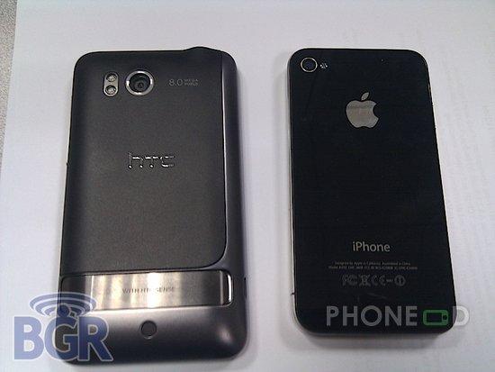 รูป 7 มือถือ HTC ใหม่ ระบบ Android มากับคีย์บอร์ดและจอสัมผัส