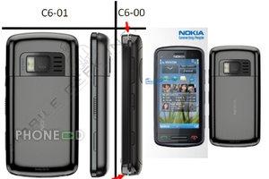 ข่าวลือมือถือใหม่ Nokia C6-01