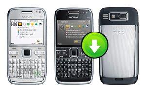 อัพเดทโปรแกรมมือถือโนเกีย Nokia E72