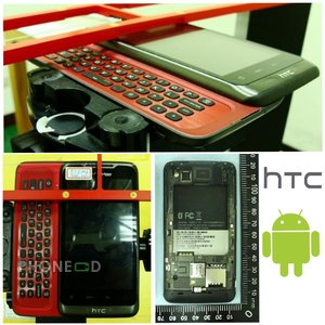 มือถือ HTC ตัวใหม่ จอทัชสกรีน+คีย์บอร์ด ระบบ Android