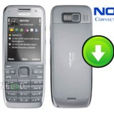 อัพเกรดเฟิร์มแวร์ Nokia E52 เวอร์ชั่น 051.018