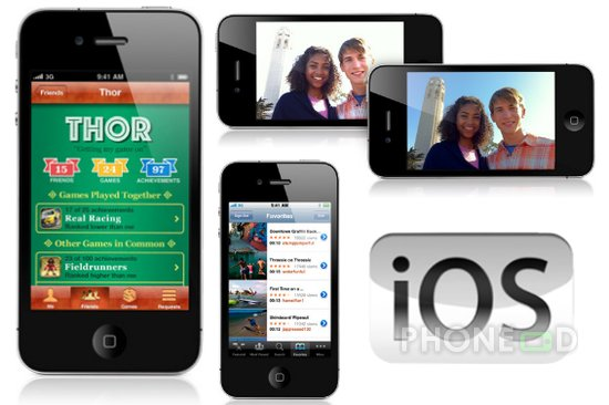 รูป 1 ดาวน์โหลด iOS 4.1 สำหรับ ไอโฟน และไอพอดทัช